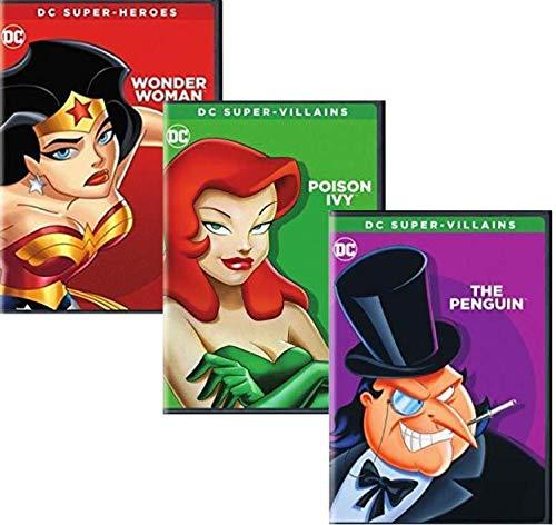 DC Super Heroes & Villains Collection - Wonder Woman/ Poison Ivy/ The Penguin