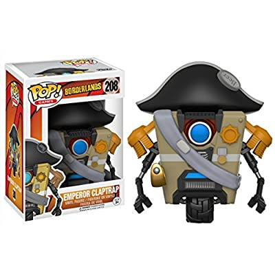Funko POP Games Borderlands Emperor Claptrap Action Figure: Funko Pop! Games:: Toys & Games