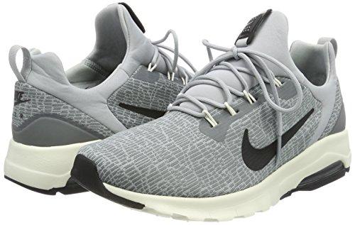 002 Hommes Voile Noir Loup Max Motion Multicolore Froid Pour Air Nike gris Racer Baskets Gris Tq6A1B