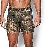 Under Armour Men's Original Series Camo Boxerjock, Realtree Ap-Xtra/Maverick Brown, Large