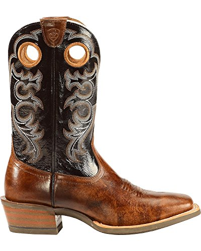 Ariat Mens Crossfire Western Boot Weathered Buckskin