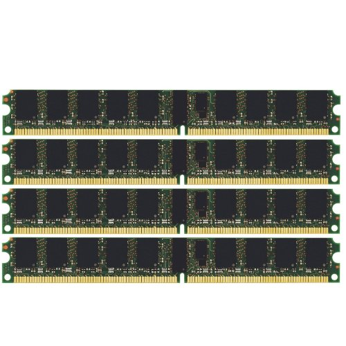 (Not for PC!) 8GB (4x2GB) PC2-3200 ECC REGISTERED Server & Workstation Memory RAM Dual Rank (MAJOR BRANDS)