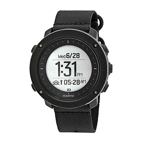 (Suunto Traverse Alpha Digital Dial Nylon Strap Men's Watch SS022469000)