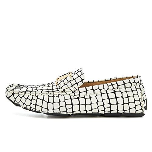 London Footwear - Sandalias con cuña hombre blanco