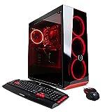 CYBERPOWERPC Gamer Xtreme VR GXiVR8040A5 Gaming PC (Intel i7-8700 3.2GHz, 8GB DDR4, AMD RX 580 4GB, 1TB HDD & Win 10 Home) Black
