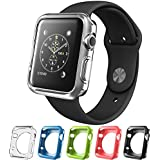 FORWORD Apple Watch Case, TPU Cases [5 Color Combination Pack] for Apple Watch / Watch Sport / Watch Edition 2015 Release 2015 (42 mm)