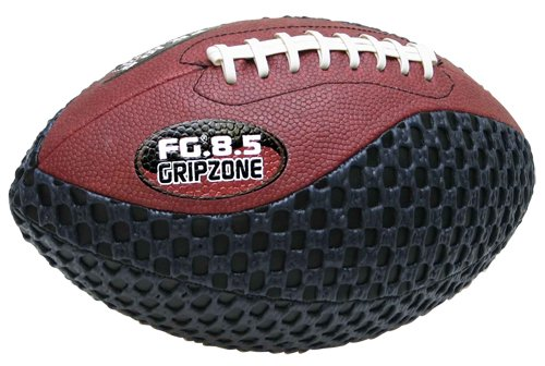 Grip Zone 8.5 inch Pee Wee Traditional Football, Black, Brown By: Saturnian 1