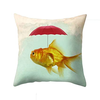 Amazon.com: wintefei - Funda de almohada cuadrada para sofá ...