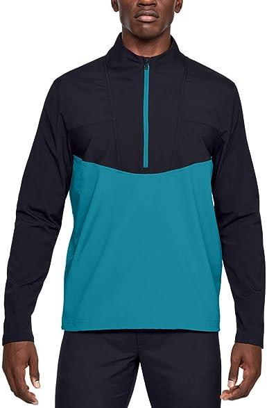 Under Armour Mens Crestable Storm Windstrike Windproof 1//2 Zip Sweater