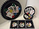 Signature Housewares ''Got Game'' 6pc. Poker Inspired Entertainment Set