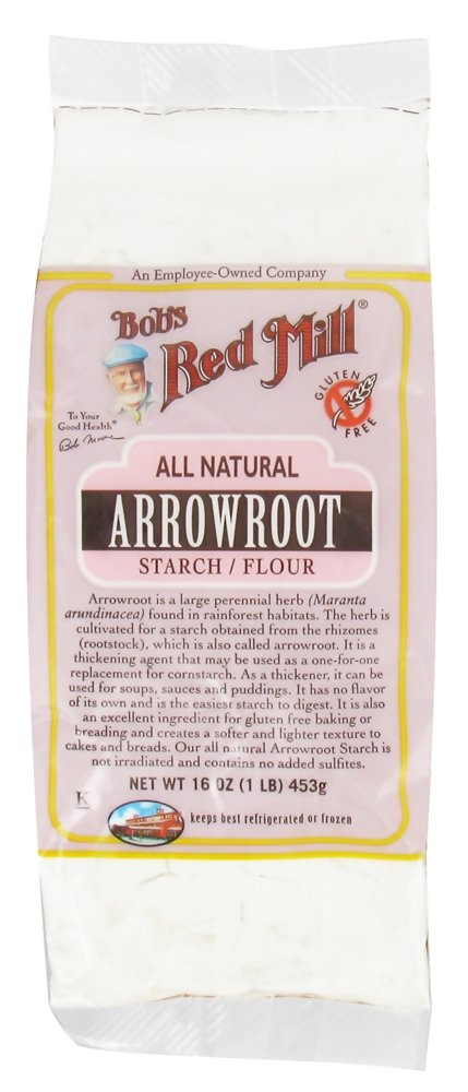 Bob's Red Mill - Gluten Free Arrowroot Starch Flour - 16 oz (pack of 2)
