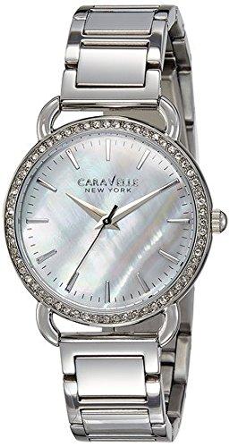 Bulova Women's Quartz Stainless Steel Casual Watch, Color:Silver-Toned (Model: 43L184)