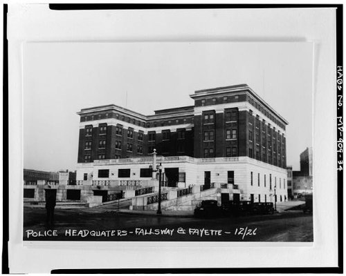 Photo: Police Department Headquarters,100 Fallsway,Baltimore,Independent City,MD 33