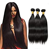 Best Grade Of Human Hair Weaves - Bex Straight Hair Bundles 16 18 20 inch Review