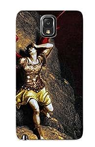 Exultantor Opxfts-2578-kmgjkde Case For Galaxy Note 3 With Nice Fallen Angel Fire Demons Hell Heaven Satan Demonic Lucifer Satanic Demon Appearance