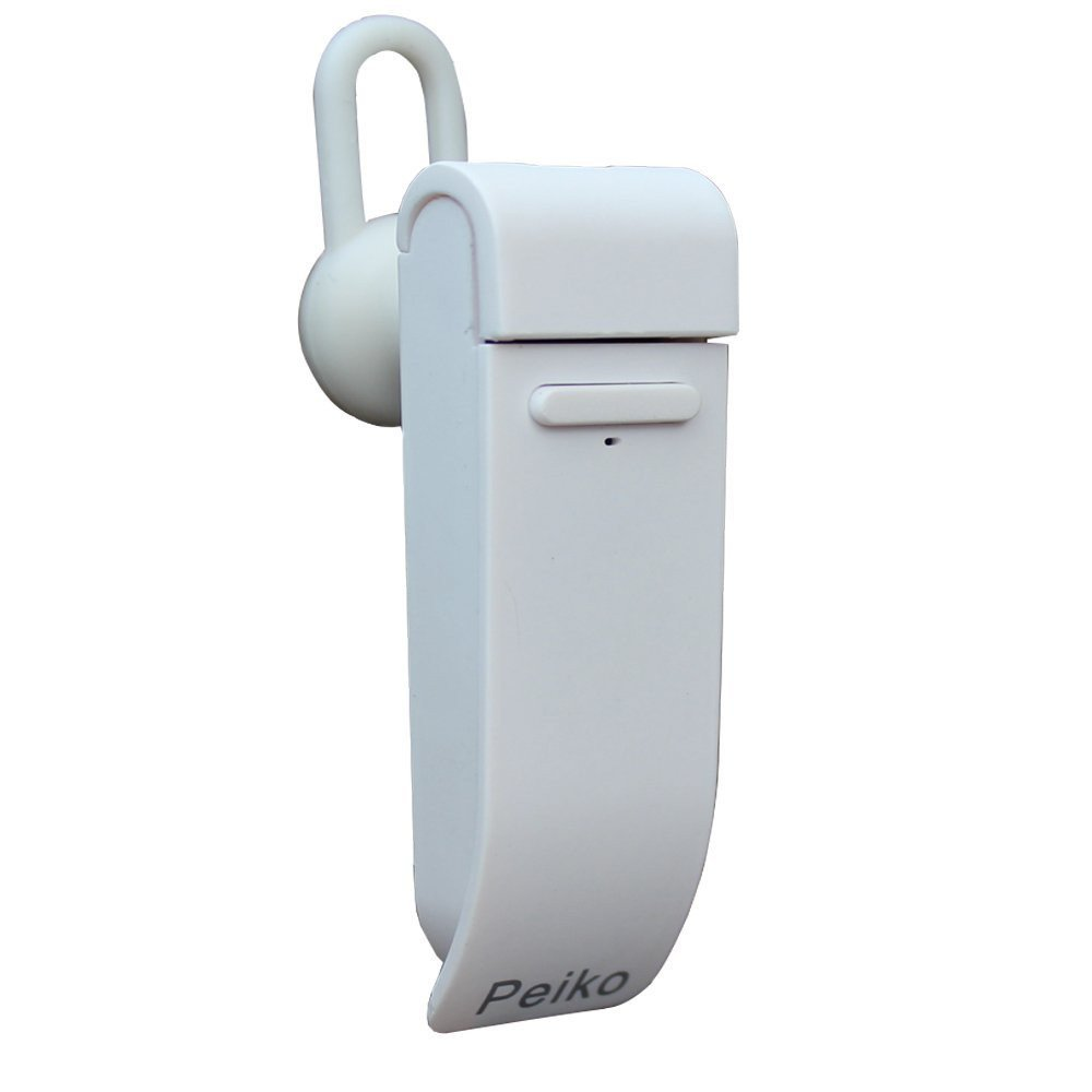 GZCRDZ smart bluetooth headset, which supports multi-lingual APP online translation, can also carry out different language translation dialogues at the same time (White)