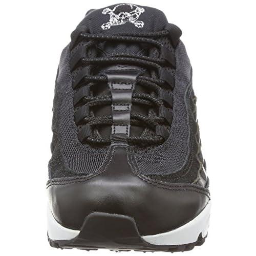 separation shoes f8a71 a3eca Buena Nike Air Max 95 Prm, Zapatillas Hombre, Negro