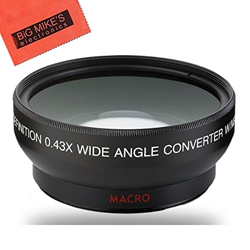 58mm 0.43X Wide Angle