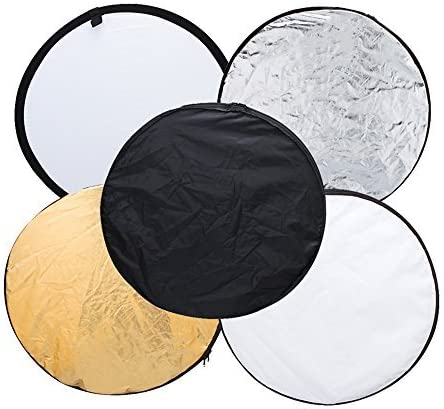 DERTHWER Photography Lighting Reflectors 36 Inch 92cm Detachable Photography Lighting Umbrella Double Layer Black//Silver Photo Studio Umbrella,3 Pack Suitable for Indoor and Outdoor