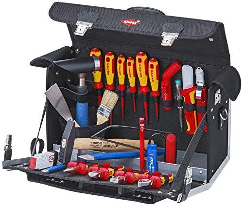 00 21 02 EL Tool Bag ''Electric'' 23Piece by KNIPEX Tools
