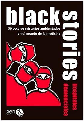 Black Stories - Hospitales Demenciales, Juego de Mesa (Gen-X Games GEN043): Amazon.es: Juguetes y juegos
