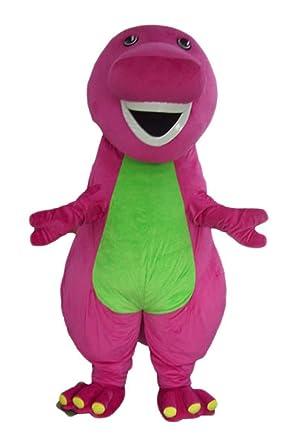 Idea)))) adult barney costume dinosaur purple