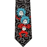 Dr Seuss Thing 1 Thing 2 New Novelty Necktie
