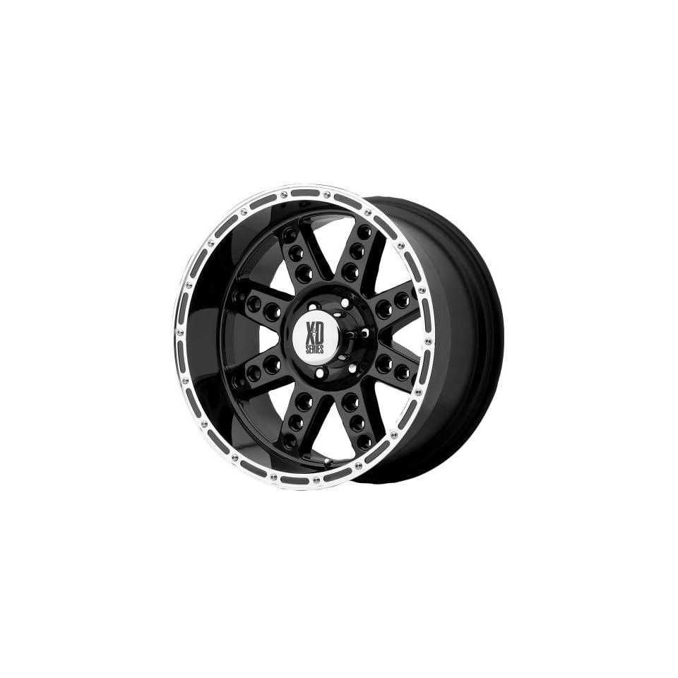 XD Series 766 Diesel Gloss Black Machined Wheel (20x10/6x5.5)