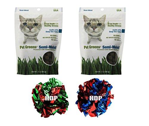 Cheap Growers Cat Treat Semi Moist 3 Oz Made in USA Flavor:Deep Sea Tuna Pack of 2