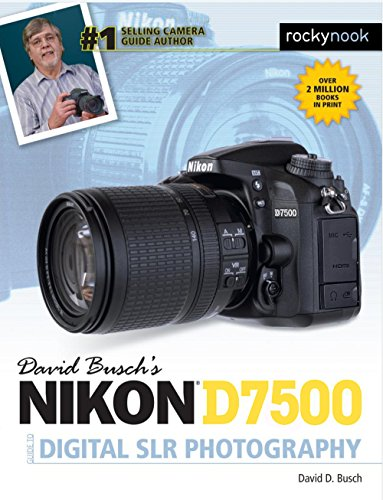 David Busch's Nikon D7500 Guide to Digital Photography is your all-in-one comprehensive resource and reference for the Nikon D7500 camera. Built around the same 20.9 megapixel sensor as the D500, this mid-level Nikon model has BlueTooth and Wi-Fi wir...