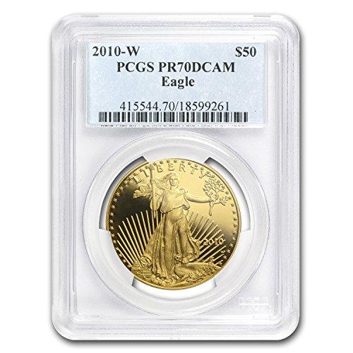 (2010 W 1 oz Proof Gold American Eagle PR-70 PCGS 1 OZ PR-70 PCGS)
