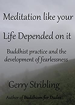 Meditation like your Life Depended on it: Buddhist practice and the development of fearlessness by [Stribling, Gerry]