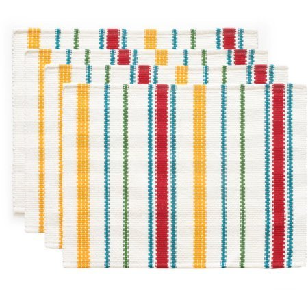 The Pioneer Woman Vintage Stripe Placemat, 4pk