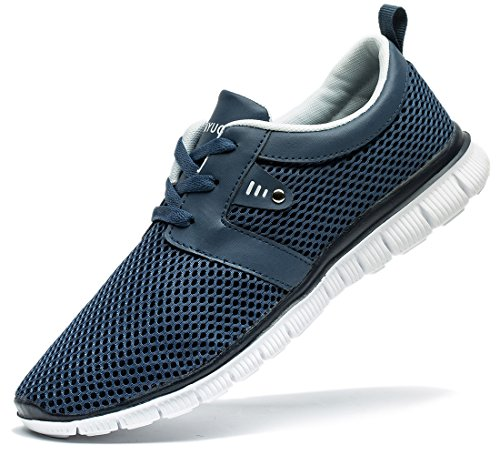Men Walking Shoe (Tianui Walking Shoes Men Fashion Breathable Sneakers Casual Athletic Lightweight Outdoor Sports Shoes)