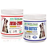 Original Total-digestion Twin Pack One Total-biotics One Total-zymes 228gm Each, My Pet Supplies