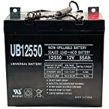 UB12550 12V 55Ah Scooter Wheelchair Mobility Deep Cycle SLA AGM Battery