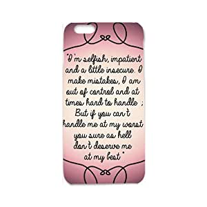Artistic note Cell Phone Case for iphone 6 3d