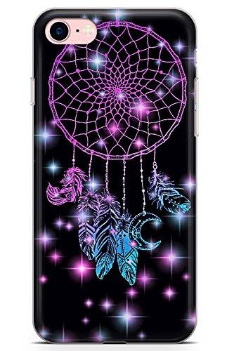 5cc2e350a5f Case Warehouse iPhone 7 Case, iPhone 8 Case, Midnight Dream Catcher Phone  Case Clear