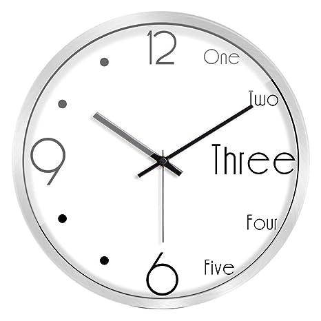 XS CAR Función matemática Reloj de Pared Personalidad Aula Estudiante Reloj Sala de Estar Grande Mesa
