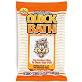 Quick Bath Cat Wipes, Reduces Odor & Bacteria with All-Natural Skin Conditioners and Cleaners, Extra Thick & Heavy Duty, 10 Count