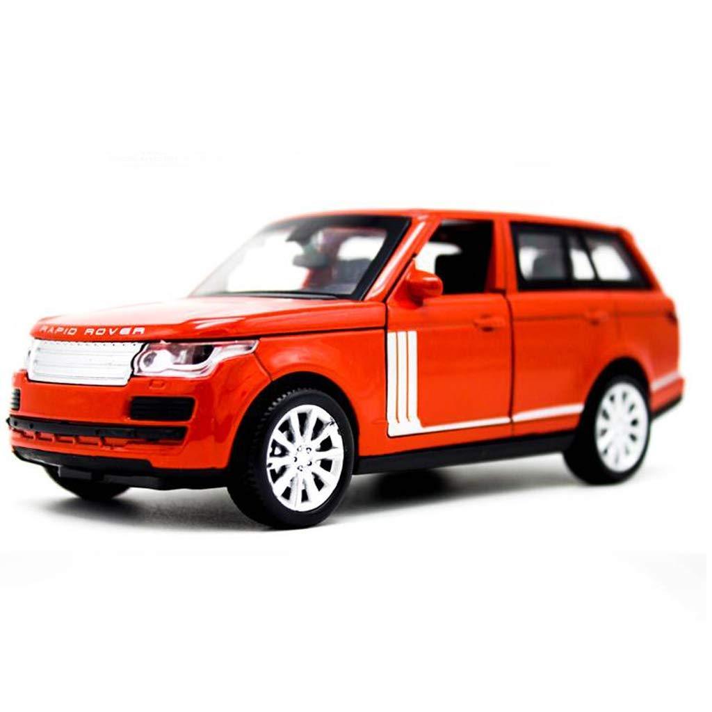 KaKaDz Wei Modello Auto in Lega Modello di Auto 1 32 Modello di Auto per Bambini Fuoristrada Land Rover Range Rover ( Colore   rosso )