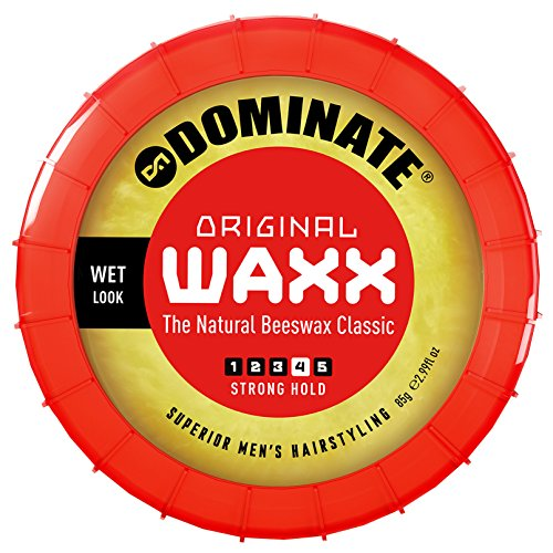 Dominate Original Waxx Hair Styling Wax, Strong Hair Hold With A Wet Look, 85g (3 oz)