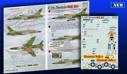 Print Scale 32-009 - 1/32 Decal for F-105 Thunderchief Mig Kill 3