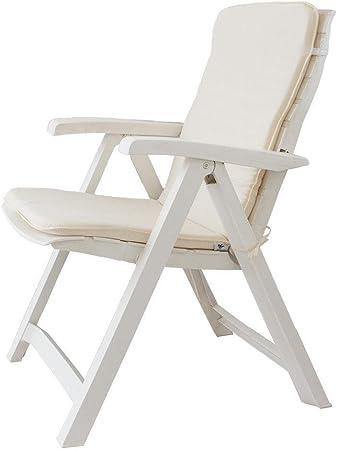 Relax P517 ARANCIONE Cuscino copri sedia sdraio da giardino 45x90 cm Unito mod