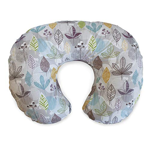 - Boppy Original Nursing Pillow and Positioner, Colorful Leaves, Cotton Blend Fabric with allover fashion
