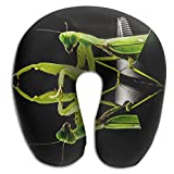 Neck Pillow with Resilient Material Mantis Mirror U Type Travel Pillow Super Soft Cervical Pillow