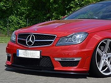 Mercedes Clase C W204 C204 S204 C63 AMG Coupe Sedán Sedán Kombi frontal Alerón: Amazon.es: Coche y moto