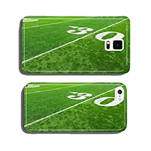 Football field cell phone cover case Samsung S5