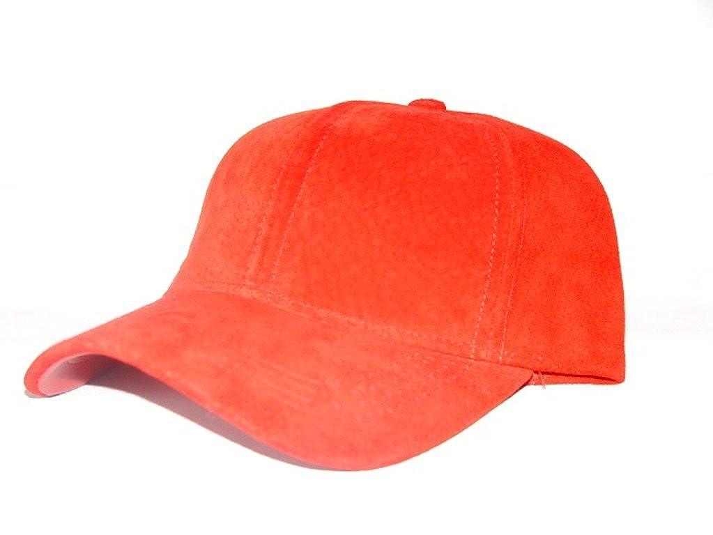 Suede leather baseball cap hat fa555e43e68