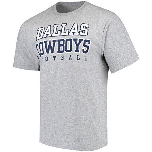 Dallas Cowboys Tee Shirts (Dallas Cowboys Grey Practice T-shirt 4X-Large)